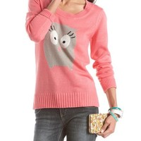 Soft Owl Pullover Sweater: Charlotte Russe