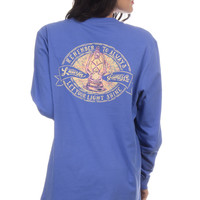 Lauren James Long Sleeve Tee- Let Your Light Shine- Violet