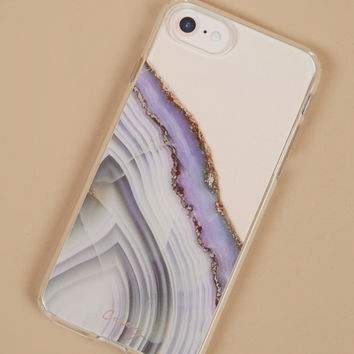 Purple Agate iPhone 6/7 Case - Cell Phone Accessories - Gifts/Home Decor