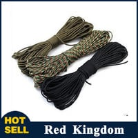Parachute Cord Lanyard Rope Mil Spec Type III 7 Strand Climbing Camping survival equipment