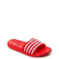 Red Striped Athletic Sandal