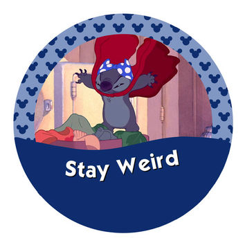 Stay Weird – Lilo & Stitch