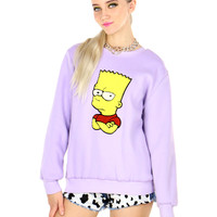 PASTEL GOTH BART SWEATER