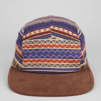 Rosin Fair Isle Print 5-Panel Hat - Urban Outfitters
