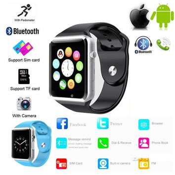 PhoneMate Android/Bluetooth Compatible Sports GSM SmartWatch