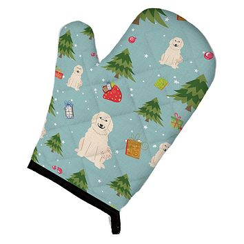 Christmas Great Pyrenese Oven Mitt BB4743OVMT