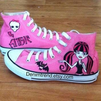 DCCK8NT monster high shoes converse