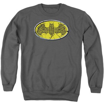 Batman - Celtic Shield Adult Crewneck Sweatshirt