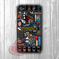 Divergent All Quote Collage -3 for iPhone 4/4S/5/5S/5C/6/ 6+,samsung S3/S4/S5,samsung note 3/4