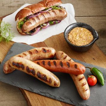 Brooklyn Bangers Sausages Combo Sampler 20 Count