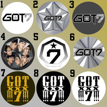GOT7 Got it? Love Bottle Cap Necklace KPOP (9 Styles)