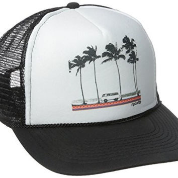 Rip Curl Junior's Born Traveler Trucker Hat, Black, One Size