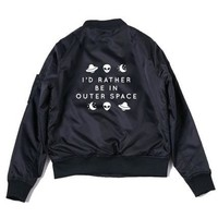 Rather Be In Outer Space Bomber PREORDER