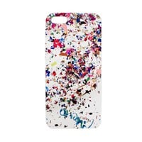 Cynthia Rowley -  White Confetti iPhone 5 Case | Accessories by Cynthia Rowley
