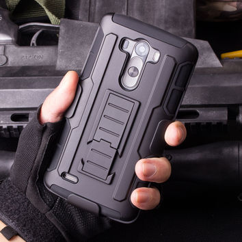 Rugged Case For LG G2 G3 G3C G4 G4C Best Mini Stylus LS770 V10 K7 Vista V880 Holster Hybrid Hard Cover Cell Phone Cases