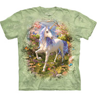 Unicorn Forest Youth Tie-Dye T-Shirt