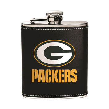 Green Bay Packers Flask - Stainless Steel