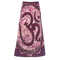 Batik Om Wrap Skirt on Sale for $56.95 at HippieShop.com