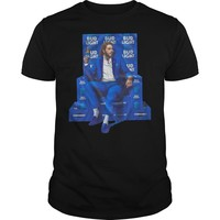 Post Malone for Bud Light shirt Premium Fitted Guys Tee