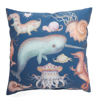 ModCloth Nautical Creatures of the Whim-sea Pillow