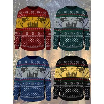 Harry Potter Christmas Sweater