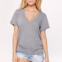 Current Elliott 2016    The V-neck in heather grey