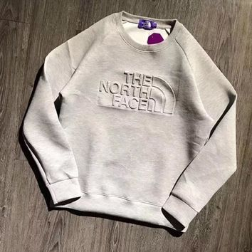 One-nice™ The North Face Woman Men Fashion Long Sleeve Top Sweater Pullover