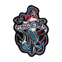 Flogging Molly Men's Embroidered Patch Black