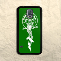 Green Starbuck Coffee Logo Samsung Galaxy S5 Case