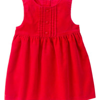 Red Zone Cord Jumper Dress - Infant