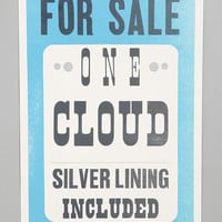 Roll And Tumble Press Silver Lining Print