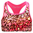 Reversible Sports Bra in Pink Leopard