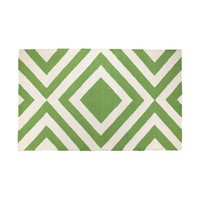 Trina Turk Merced Hook Rug - Green
