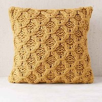 Chunky Cotton Knit Pillow