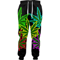 LED Weed Joggers