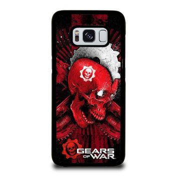 GEARS OF WAR SKULL Samsung Galaxy S3 S4 S5 S6 S7 Edge S8 Plus, Note 3 4 5 8 Case Cover