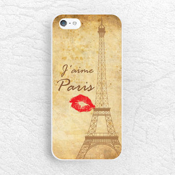 J'aime Paris Love - iPhone 6, 5s, LG G3, nexus 5, Sony z1 z2 z3, HTC one m9 m8, Moto x Moto g, Life quote Eiffel Tower phone cover case -Q03