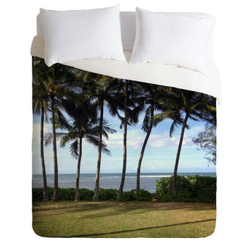 Deb Haugen Morning Waialua Duvet Cover