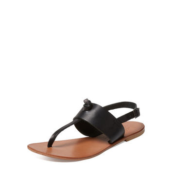 Bastia Leather Sandal by Joie at Gilt