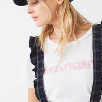 UO Time After Time Plaid Suspender Skirt | Urban Outfitters