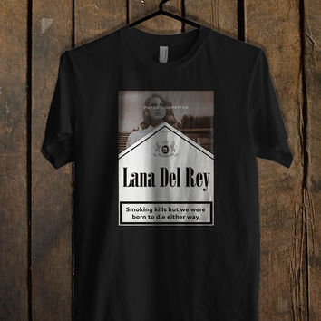 Lana Del Rey Filter Cigarettes T Shirt Mens T Shirt and Womens T Shirt *
