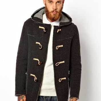 Gloverall Knitted Duffle Coat