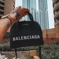 balenciaga Women Shopping Leather Tote Crossbody Satchel Shoulder Bag