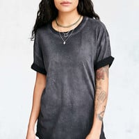 Pins And Needles Freedom Washed Tunic Tee - Urban Outfitters