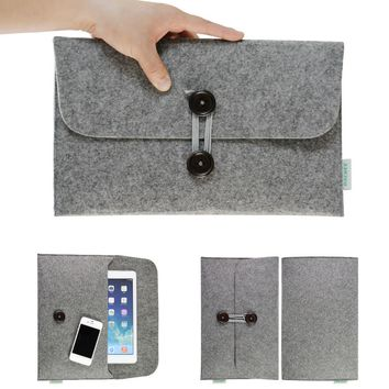 Wool Felt Sleeve Macbook Air and Pro 13 Case