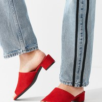 Patti Suede Mule Heel | Urban Outfitters