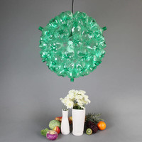 Green Bubble Chandelier — barrettadair's Collection