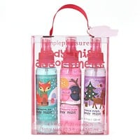Simple Pleasures Stocking Stuffers 3-pc. Body Mist Gift Set