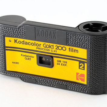 126 Film Cartridge Kodacolor Gold 200 Part Exposed - Lomography