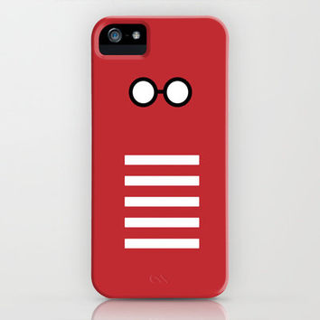 Where's Waldo Minimalism iPhone & iPod Case by Dianne Delahunty